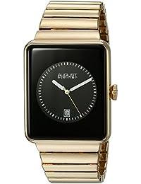 August Steiner Hombre Analógico Pantalla Oro de cuarzo japonés reloj