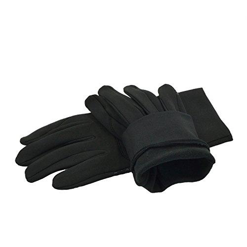 Rutschfest Touchscreen Handschuhe – UPhitnis Sport Fahrradhandschuhe für Herren, Damen – Outdoor Radsport Winddicht Winterhandschuhe mit Schwarz, Rot, Rosa - 3