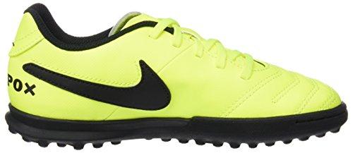 Nike Tiempox Rio Iii Tf, Scarpe da Calcio Unisex – Bambini Giallo (Volt/black Volt)
