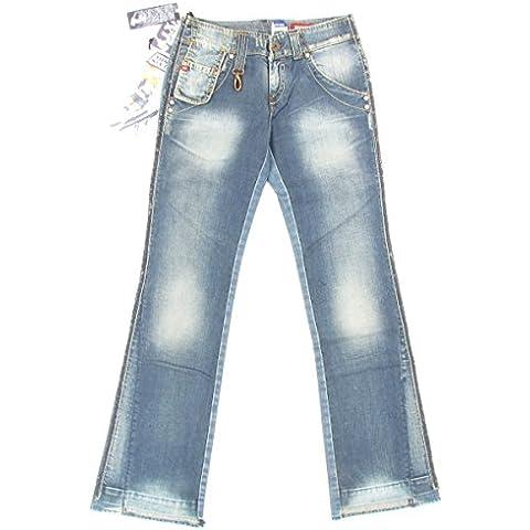 Miss Sixty - Vaqueros - Pantalones Boot Cut - Efecto teñido - para mujer
