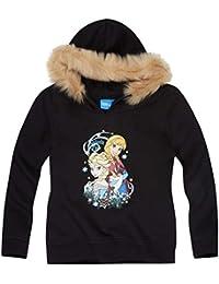 Disney El reino del hielo Chicas Sudadera con capucha 2016 Collection - Negro