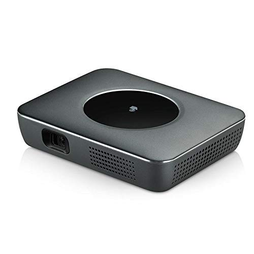 ZGYQGOO Heimkino-Projektor, Tragbarer Full-HD-Mini-Projektor WiFi In Der Batterie 8000mAh Android6.0 System 1080P Wireless-WLAN-Mini-Smart-3D-Projektor Fuuml;r Gaming Business Und Bildung Tief