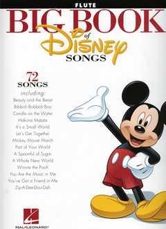 BIG BOOK OF DISNEY SONGS - arrangiert für Querflöte [Noten / Sheetmusic]