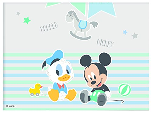 Procos 85591 – Tischdecke Kunststoff Baby Mickey & Donald, (Supplies Baby Mickey Party)