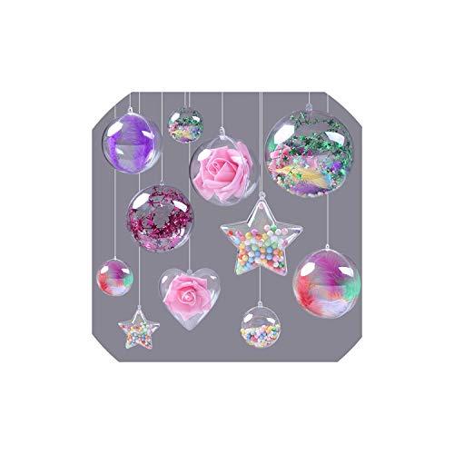 balls 10pcs Weihnachtsbaum-Kugel Weihnachten Supplies Süßigkeit Ball, 4cm ()