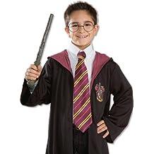 Novelty 'like in Harry Potter' School Boy Tie Purple with Stripes (accesorio de disfraz)