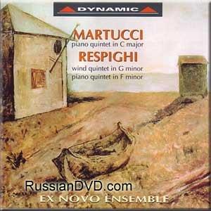 Martucci, Respighi - Ex Novo Ensemble Di Venezia (UK Import) (Aldo Nova Dvd)