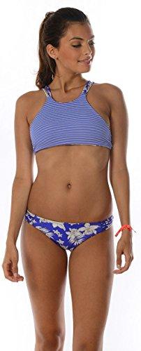 Tank Top Bikini Racer Teens, in blau (Oberteil) Blau