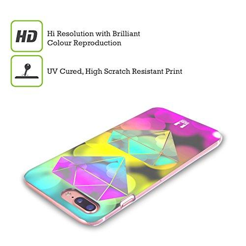 Head Case Designs Piume Bokeh Grafici Cover Retro Rigida per Apple iPhone X Diamante