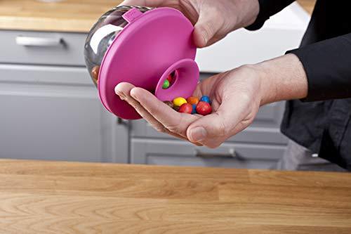 Tomorrow`s Kitchen (bislang Vacu Vin) - 2830160 Popsome Snackspender pink (Süßigkeiten Und Nuss-spender)