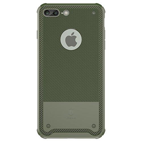 Coque Apple iPhone 7 Plus, iBetter Apple iPhone 7 Plus Case coque Etui Housse Coque Protection bumper pour Apple iPhone 7 Plus (Bleu) Vert