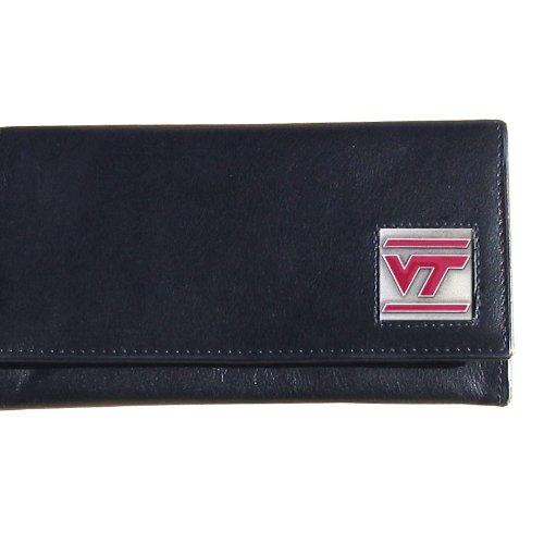 Siskiyou NCAA Damen Geldbörse Leder, Damen, Virginia Tech Hokies