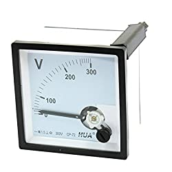 Class 1.5 Ac 0-300v Range Analog Voltage Voltmeter Panel Meter Cp-72