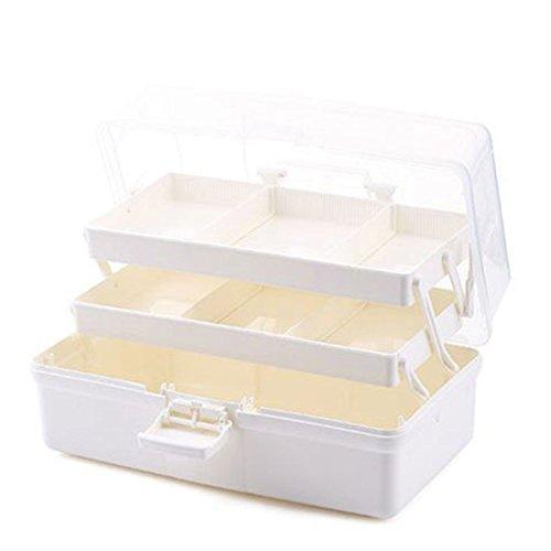 Hausapotheke, Teckpeak Medizinschrank Medizin-Box Erste Hilfe Multi-Schichten Verbandtasche Behälter Medikamenteorganizer