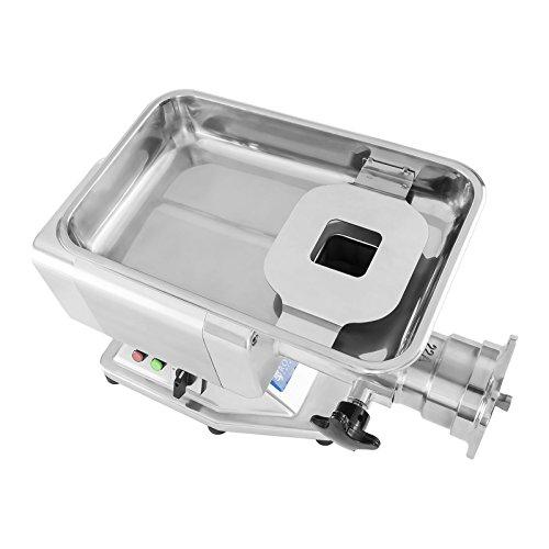 Fleischwolf Wurstmaschine Fleischmaschine (elektrisch, 220kg/h, 1100 W, 4 Lochscheiben 36/16/10/6 mm, 2