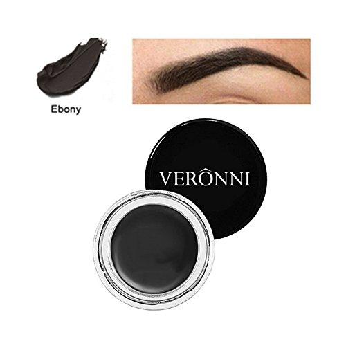 Petansy Augenbrauen Farbe Wasserdicht Augenbrauen Creme Langlebige Augenbrauen Pomade Natürliche Augenbraue Gel (Brow Pomade Soft Brown)