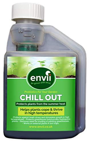 envii chill out - fertilizzante bio-stimolante unico nel suo genere che favorisce la crescita delle piante in alte temperature (250ml concentrato)