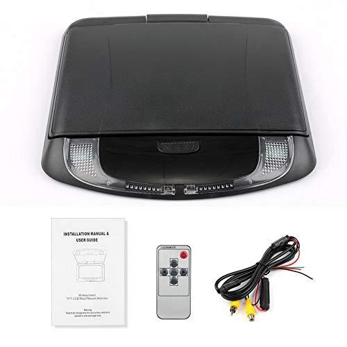 Full-featured Remote (Wide Voltage Reversing Image Display Auto High-Definition-Auto-Decken-Display Schwarz)