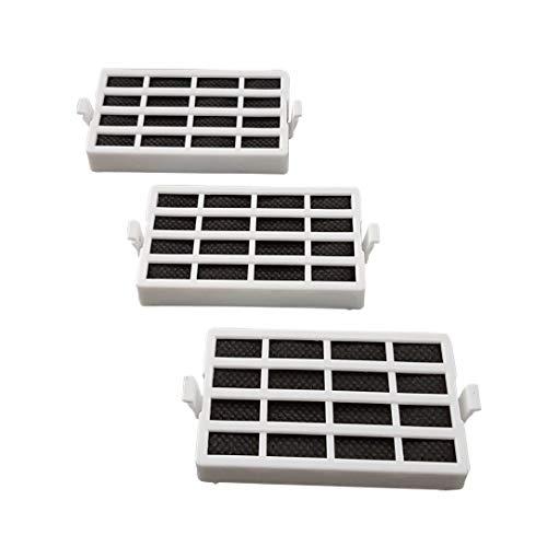 3x Luftfilter Hygienefilter Filter Abluftfilter ANT001 HYG001 ANTF-MIC Kühlschrank passend für Bauknecht Whirlpool 481248048172