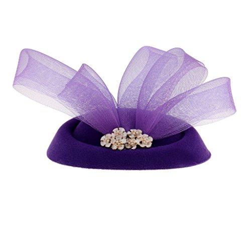 t Zubehör Haarschmuck Hut Fascinator - Lila ()