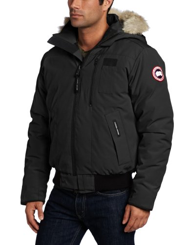 Canada Goose Men's Borden Bomber (Black, XX-Large)