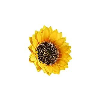 Ramo de Flores Artificiales, Girasoles Artificiales, para Bodas, hoteles, oficinas, Jardines, Manualidades, decoración del hogar