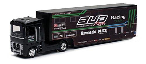 New Ray - 16433 - Véhicule Miniature - Modèle À L'échelle - Camion Team Bud Racing 2014 - Echelle 1/43
