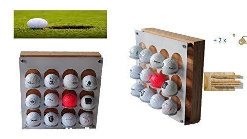 Golfball Präsentations Case weiß