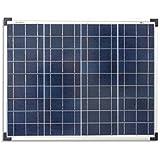 enjoysolar® polykristallin 50 W 12 V Módulo Solar Panel Solar Poly 50 W IDEAL PARA