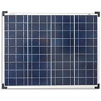 enjoysolar® polykristallin 50W 12V Módulo Solar Panel Solar Poly 50W IDEAL PARA Jardín Autocaravana Caravan