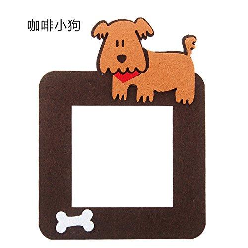 KXZDAS Kreative cartoon fühlte sich einfach home Schlafzimmer switch Switch sticker Schutzhülle dekorative Wand Schaltsteckdose setzt Kaffee Hund
