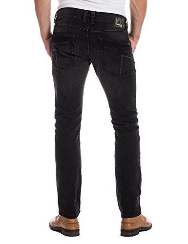 Timezone - Jeans - Slim Homme Noir - Schwarz (brush black wash 9170)