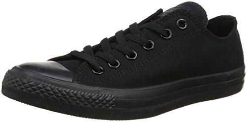 Converse Basketball Turnschuhe (Converse Chuck Taylor All Star, Unisex - Erwachsene Sneaker, Schwarz (Black Mono), Gr.45 EU)