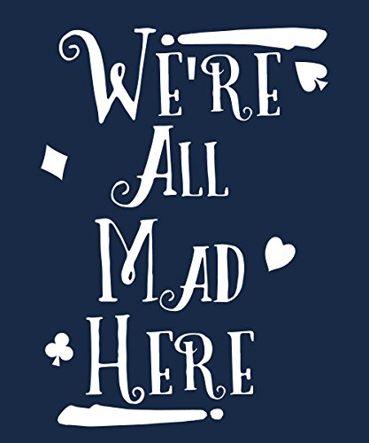 -- We're all Mad -- Boys T-Shirt Navy