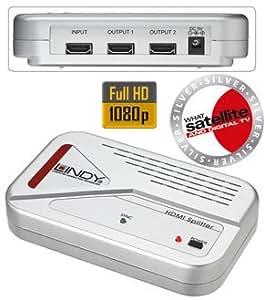 Lindy Eclateur d'écrans (Splitter) 2 voies HDMI
