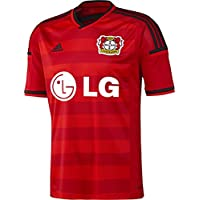adidas - Camiseta, diseño de Bayer 04 Leverkusen scarlet/black/red Talla: