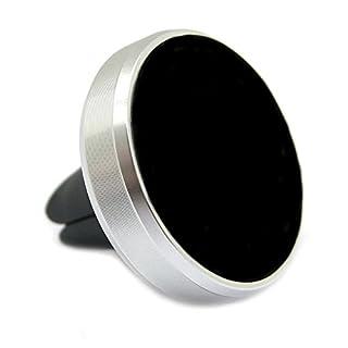 ArktisPRO AluVent Smartphone Magnet Halterung für Lüftungsgitter Silber