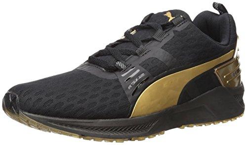 Puma IGNITE XT v2 GOLD Synthetik Turnschuhe Puma Black-Gold