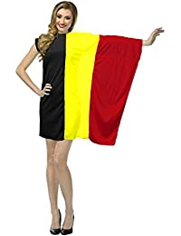 The Dragons Den Ladies Belgian Flag Fancy Dress St Josephs Day Belgium Costume