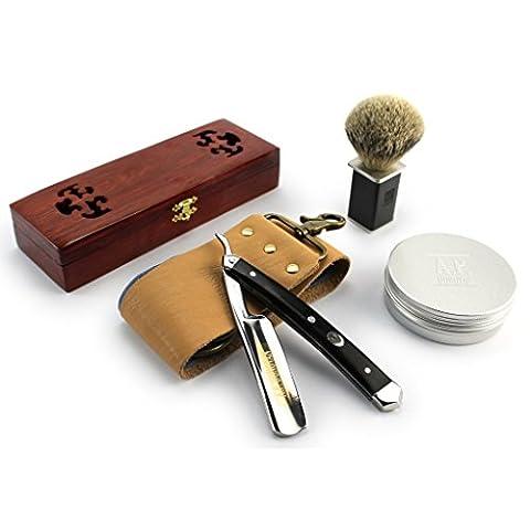Rasoir traditionnel barbier - Rasage pour les hommes - différents