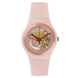 Swatch tonos de rosa reloj suop107