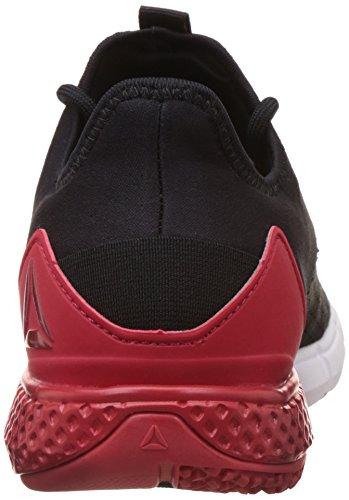 Reebok Bd4754, Chaussures de sport homme Noir (Black/excellent Red/white/ash Grey)