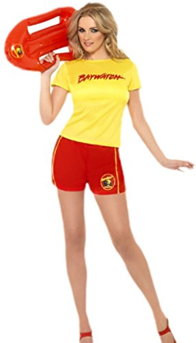 Fancy Ole - Erwachsene Baywatch Outfit, M, Gelb