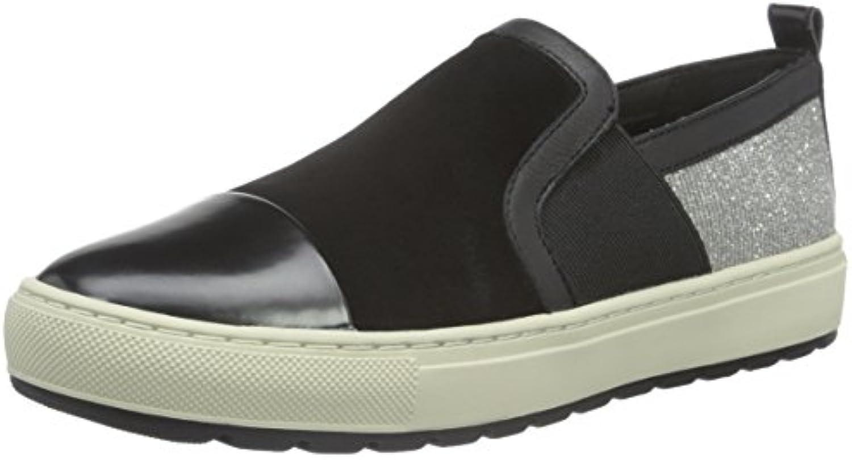 Geox Damen D Breeda A Sneakers 2018 Letztes Modell  Mode Schuhe Billig Online-Verkauf