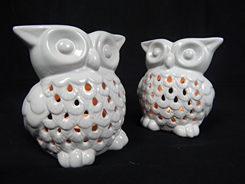 fragrant-white-2-pcs-oil-burner-tealight-holder-owl-design-white