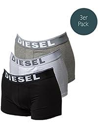 Diesel 3 pack Boxer Kory Trois pack Pant monochrome - Noir / Blanc / Gris