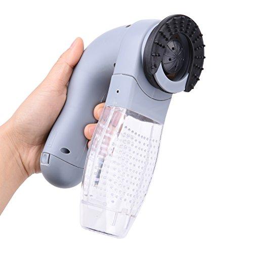 Zerlar - Limpiador de pelo eléctrico para mascotas, perro, gato, herramienta de peluquería, peine aspirador