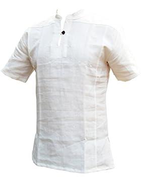 Panasiam® -  Camicia Casual  - Taglio largo  - Maniche corte  - Uomo