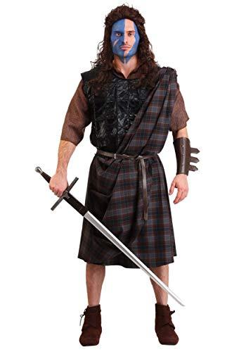 Men's Classic Fancy Dress Costume Braveheart X-Large