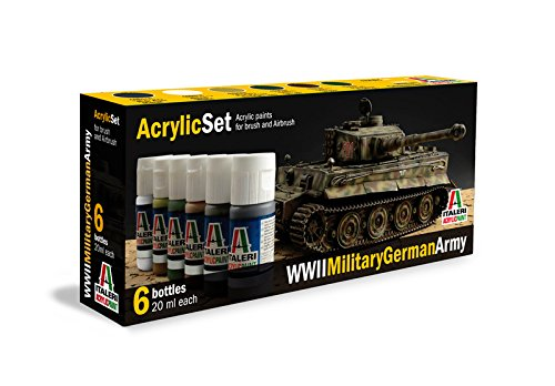 Italeri 510000433 - Acryl Set WWII Military German Army